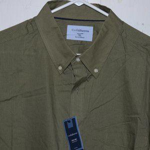 Croft & barrow short sleeve mens shirt sz XL J1049